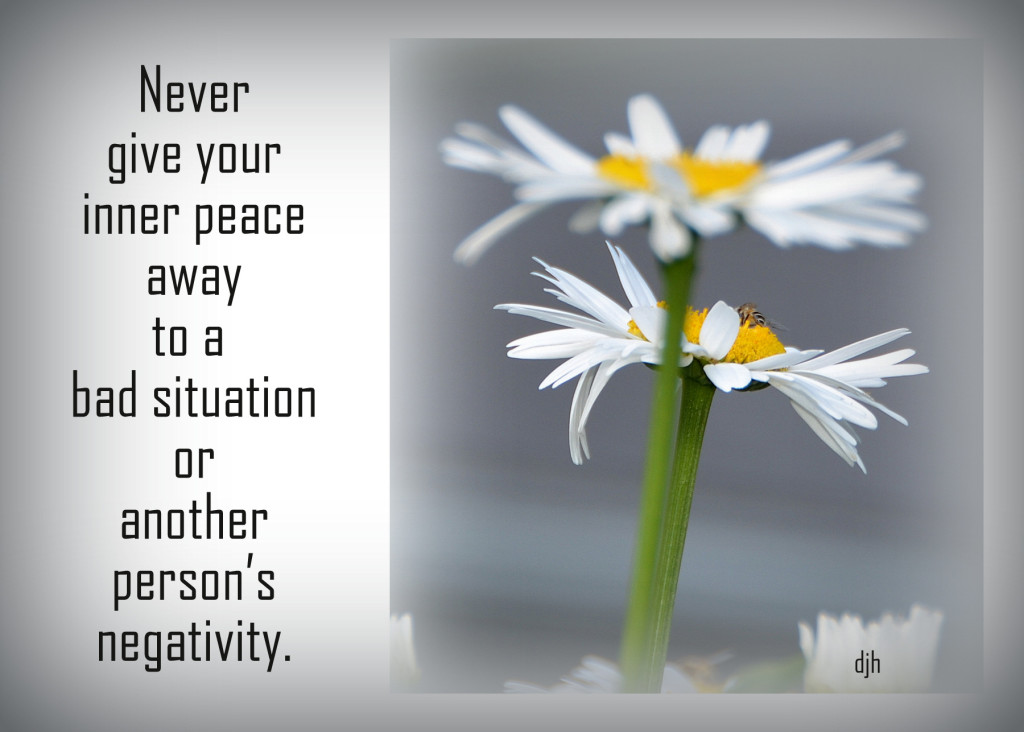 never give away